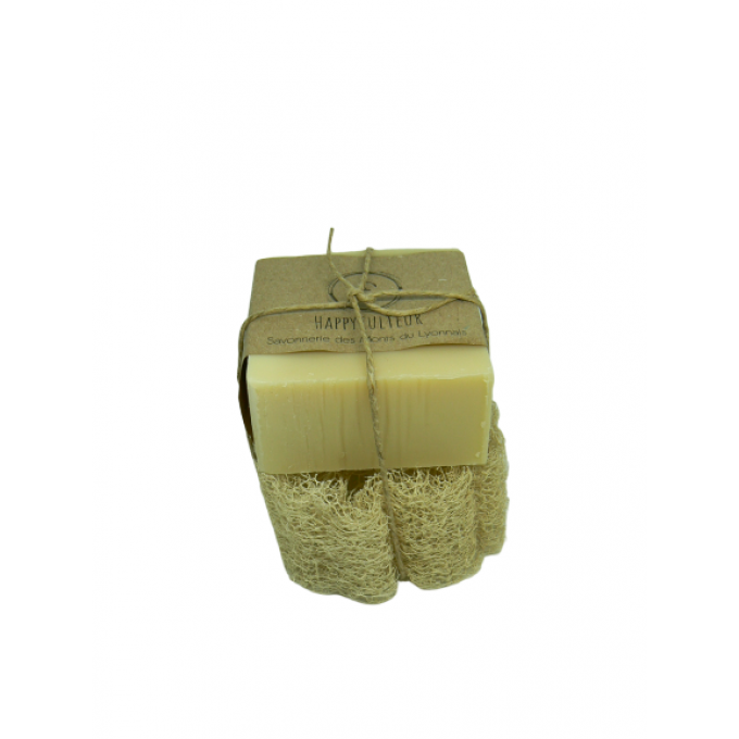 savon-happyculteur-saponification-a-froid-miel-loofah-naturel