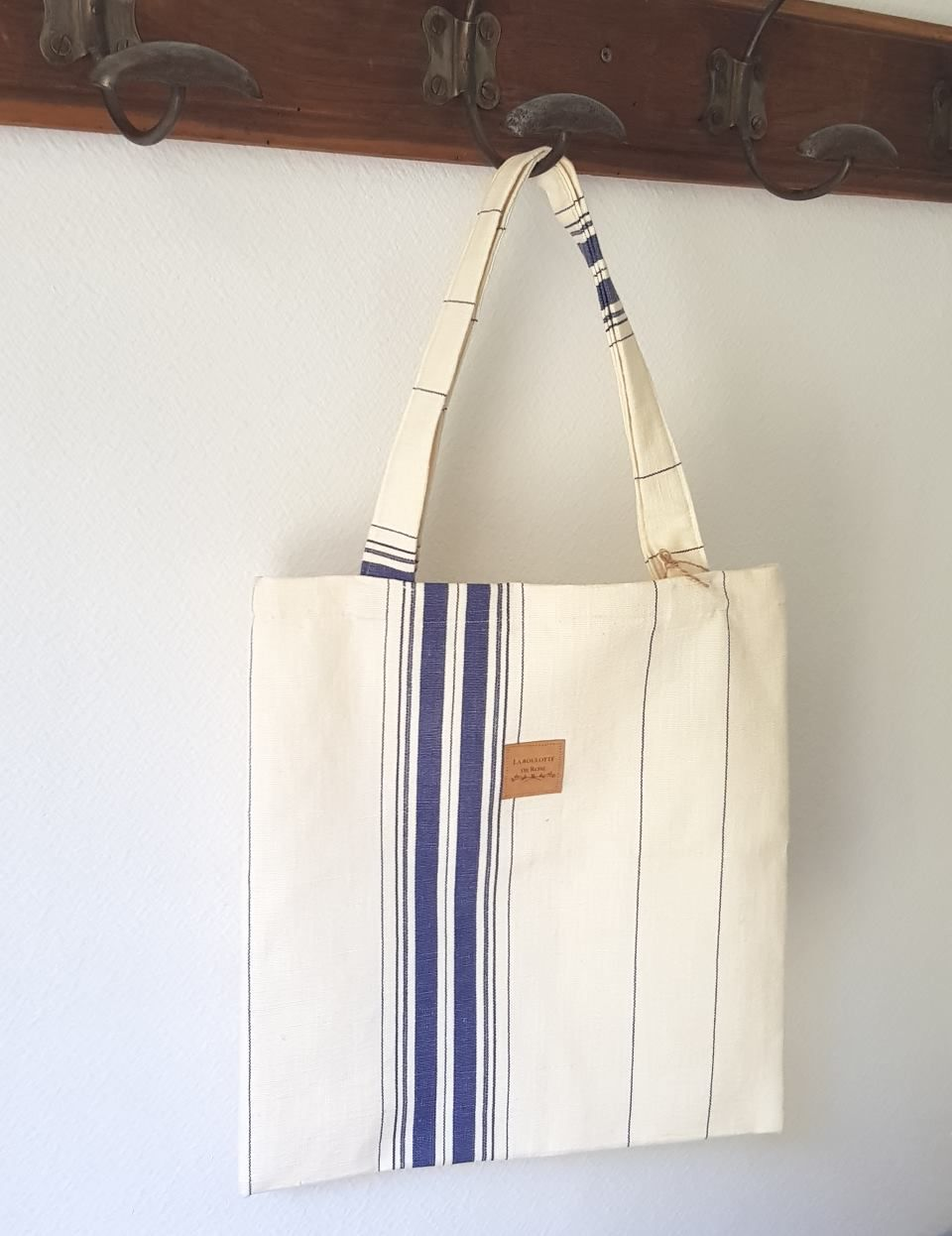 Tote bag Piment Bleu